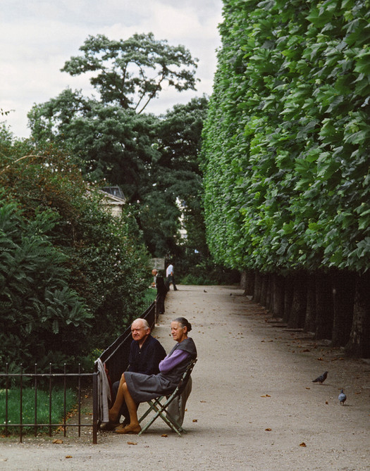 Couple Sitting, Paris