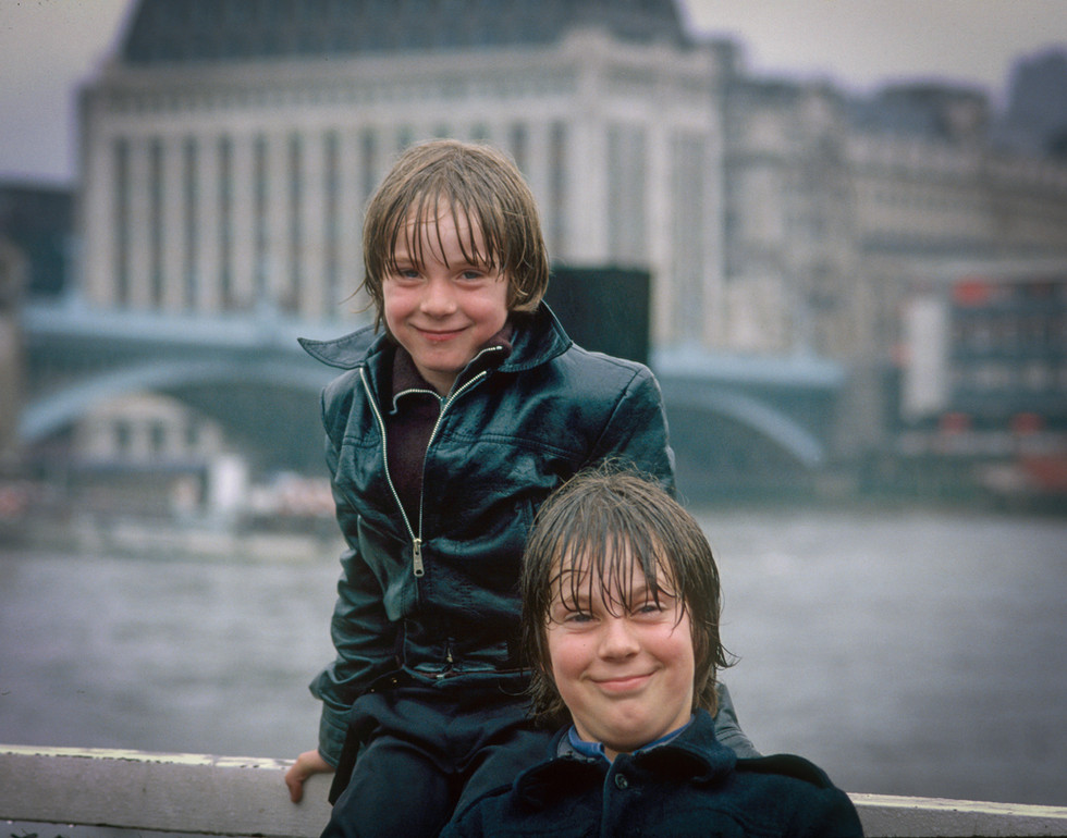Boys on the Thames