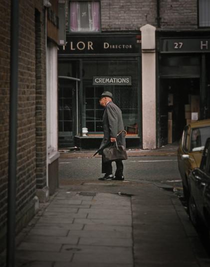 Man Shopping, London