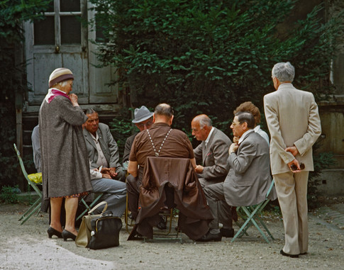 The Card Game, Paris