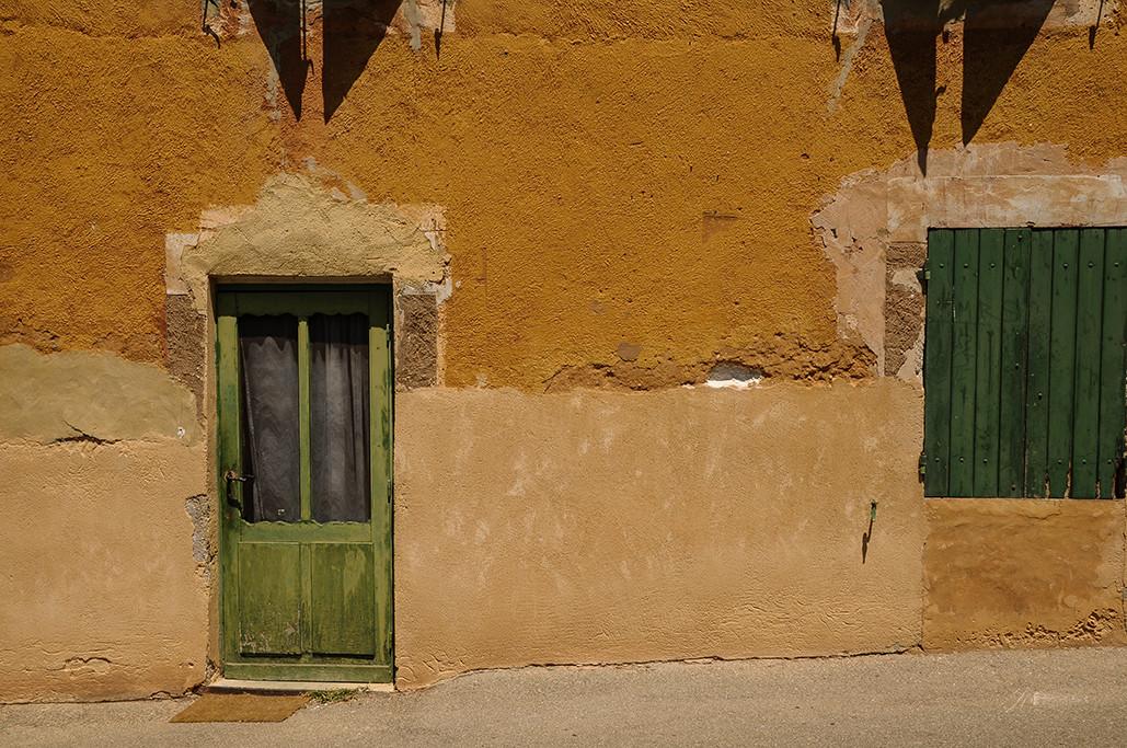 Green door Green Window