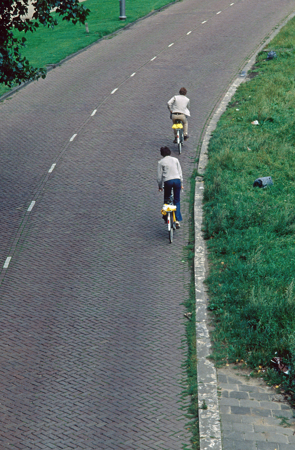 Cyclists, Amsterdam