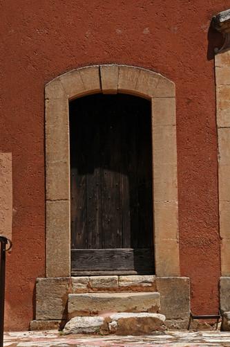 Door and Rust house
