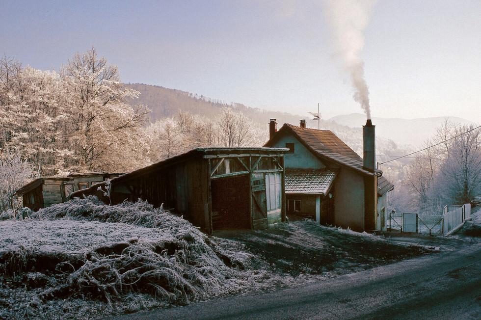 Frosty Morning, France