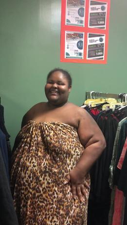 clothes distribution