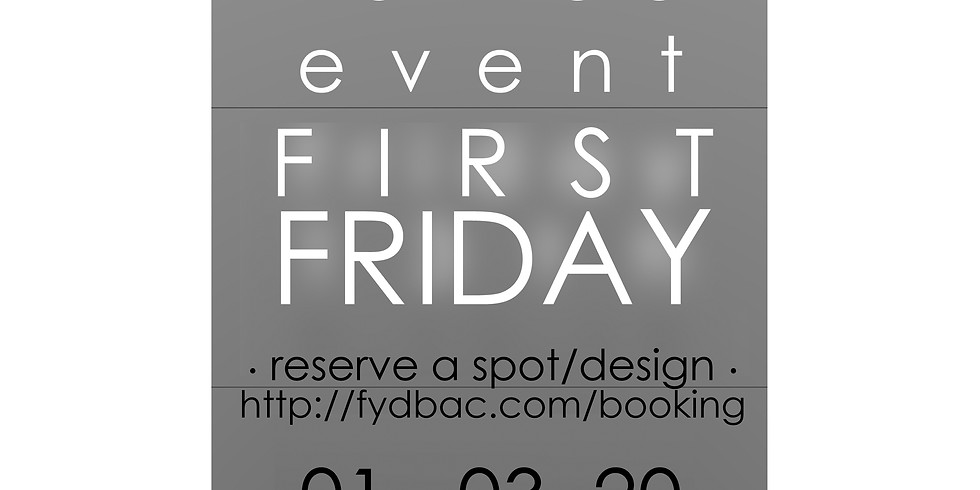 FIRST FRIDAY . tattoo event