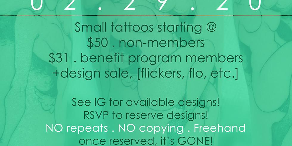 Leap tatt . tattoo event .