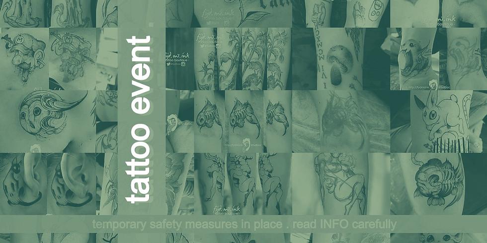 APRIL . 2021 . tattoo event