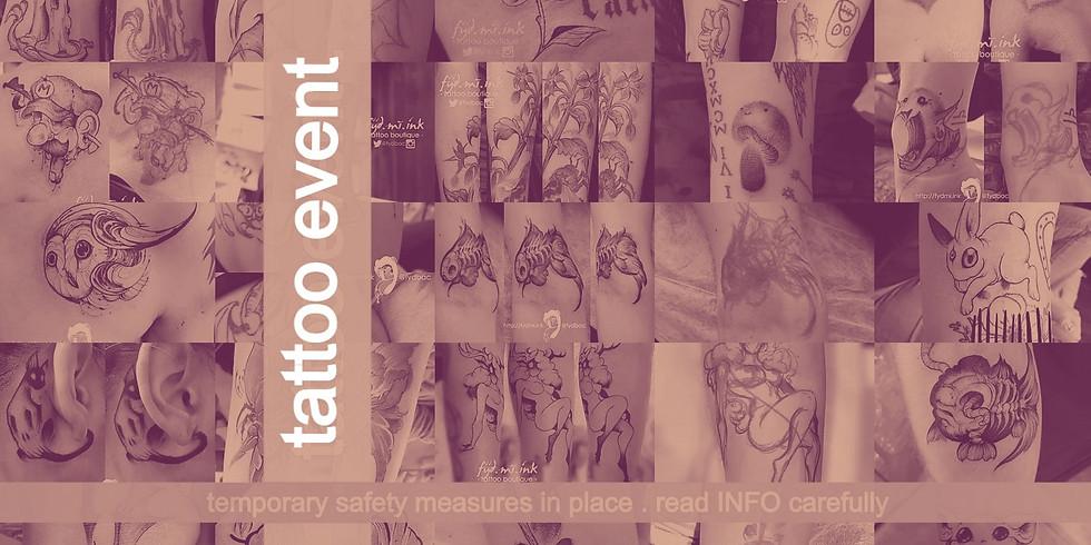 FIRST FRIDAY . tattoo event . November