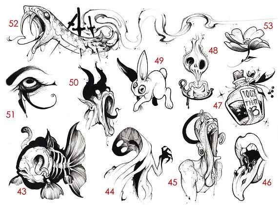 blink sheet 43-53