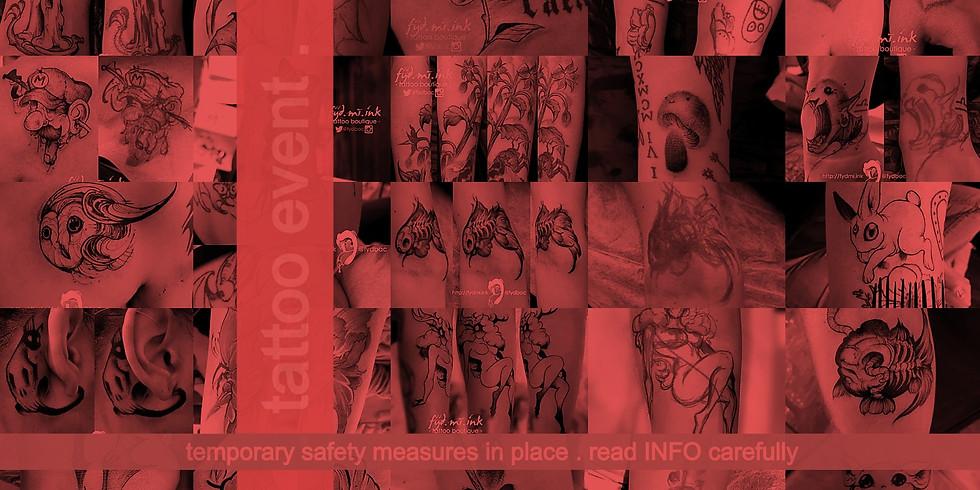 February . 2021 . tattoo event