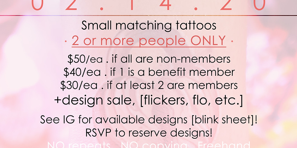 Valentatt . tattoo event .