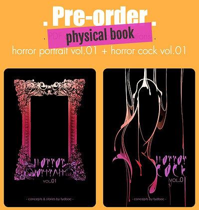 Horror books: physical books