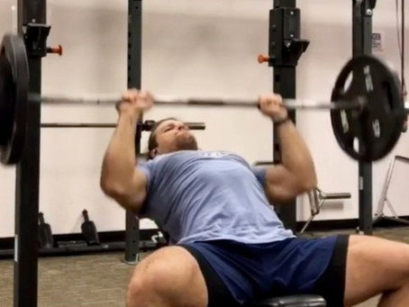 Incline Press For Athletes