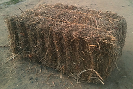 Hunters Garden Farms Straw Bales