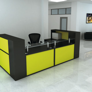 Duflow-Reception-Desk-with-Lime-Green-Pa