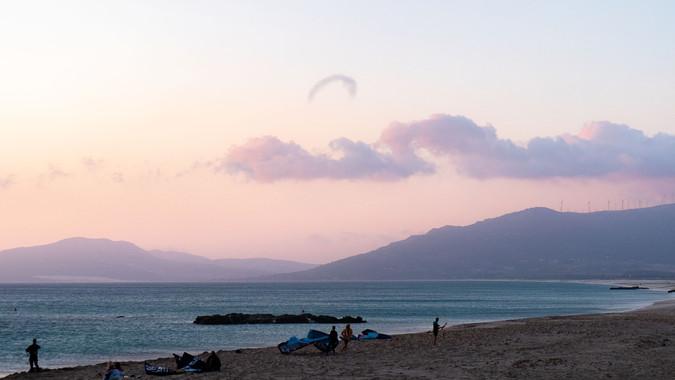 The last kite flying