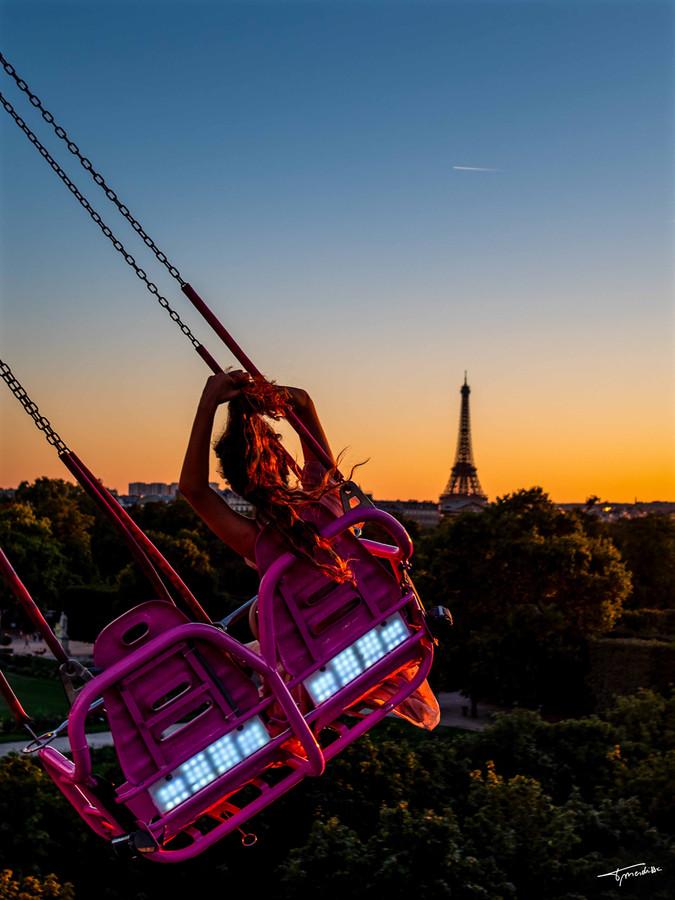 Survol d'Eiffel