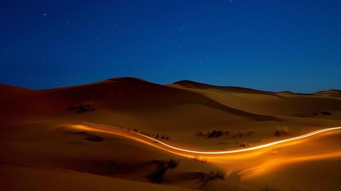Lighting Sand