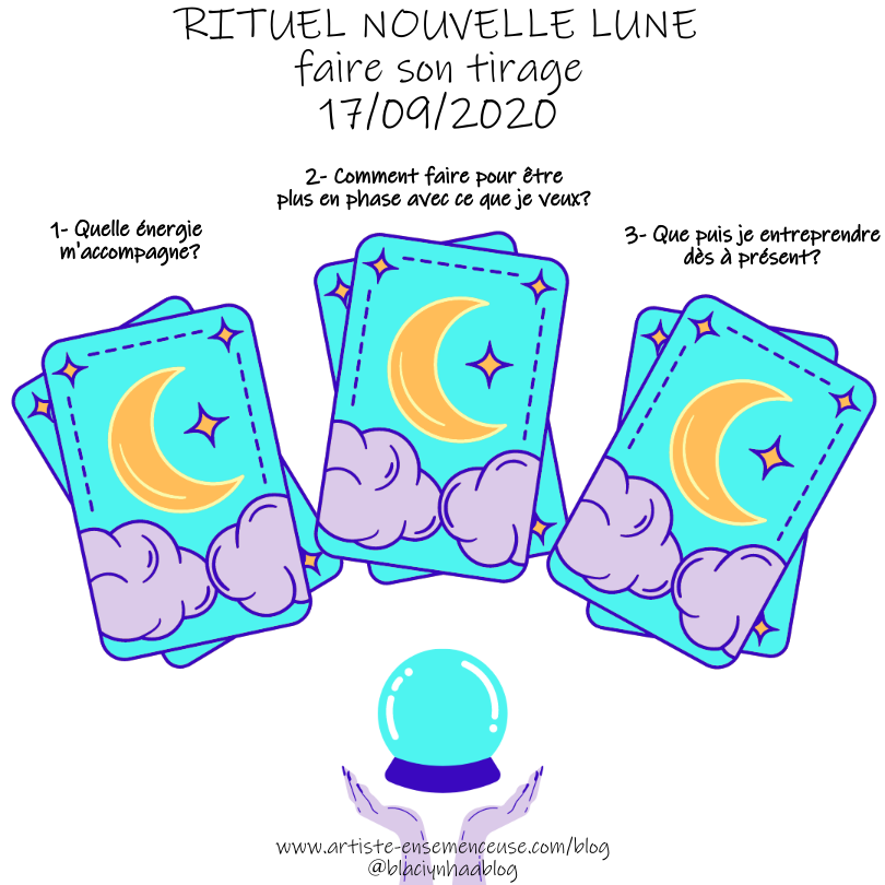 rituel nouvelle lune du 17 septembre 2020