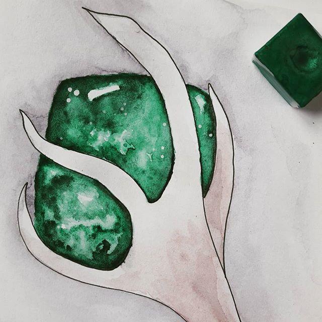 Agate mousse Symbole de la Nature Symbol