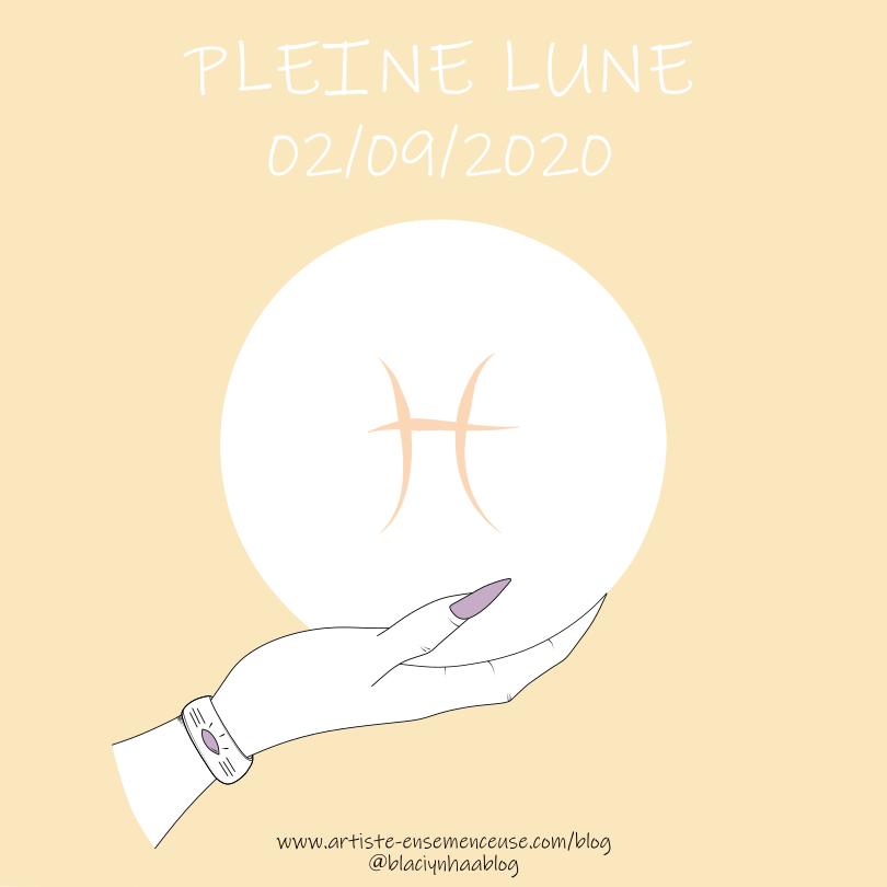 nouvelle lune 19 aôut 2020 en Lion. @blaciynhaablog.