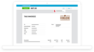 Xero Software Invoice