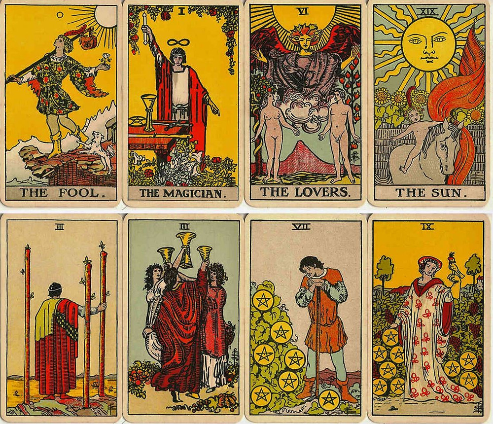 tarot rider waite. source image wopc.co.uk. blaciy nhaa @blaciynhaablog