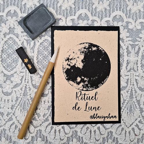 Rituel de lune cartes blãçiy nhaa @blaciynhaa