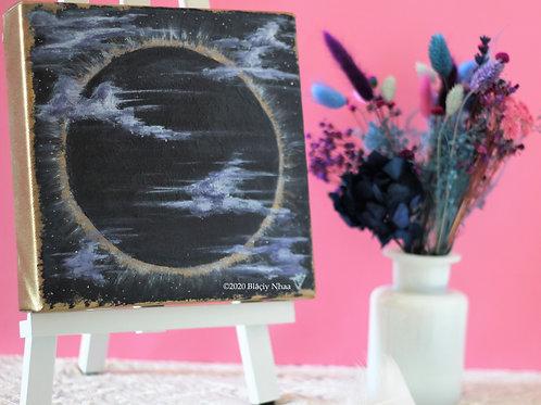 Peinture nouvelle lune