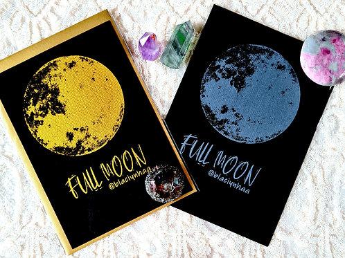 carte correspondance full moon blaçiy nhaa