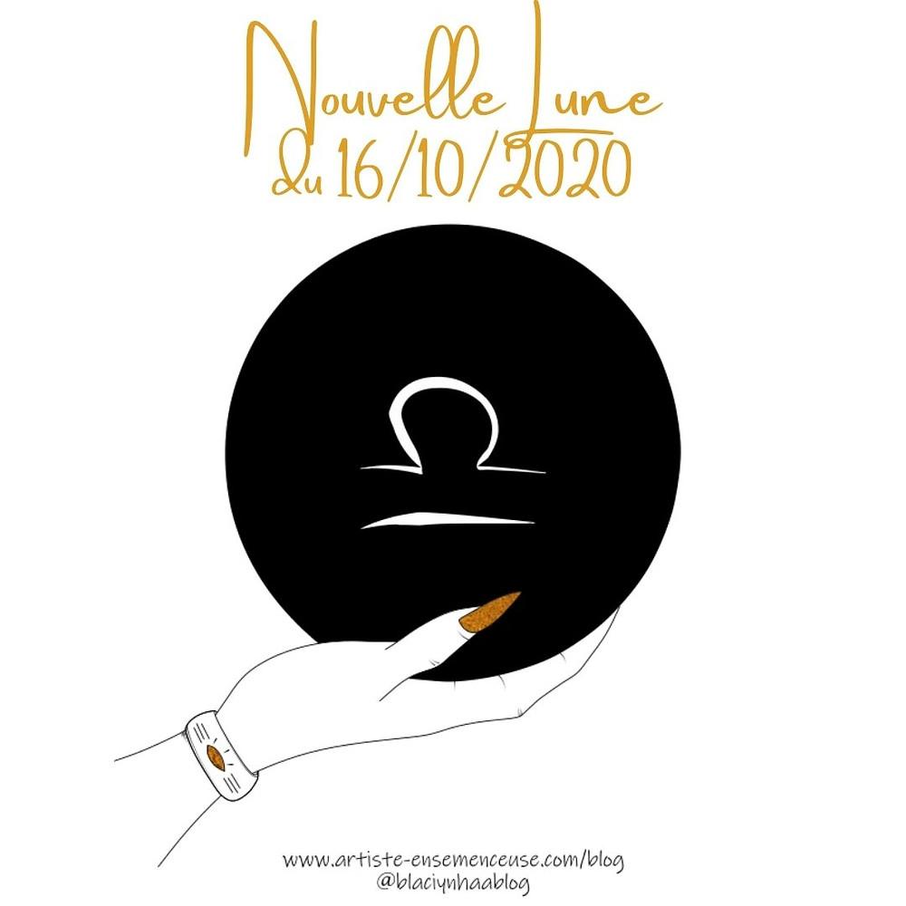 nouvelle lune 16 octobre 2020 en Balance blaçiy nhaa