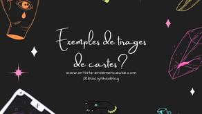 EXEMPLES DE TIRAGE DE CARTES