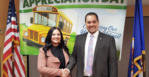 Release: Rep. Lucero Honors School Bus Drivers