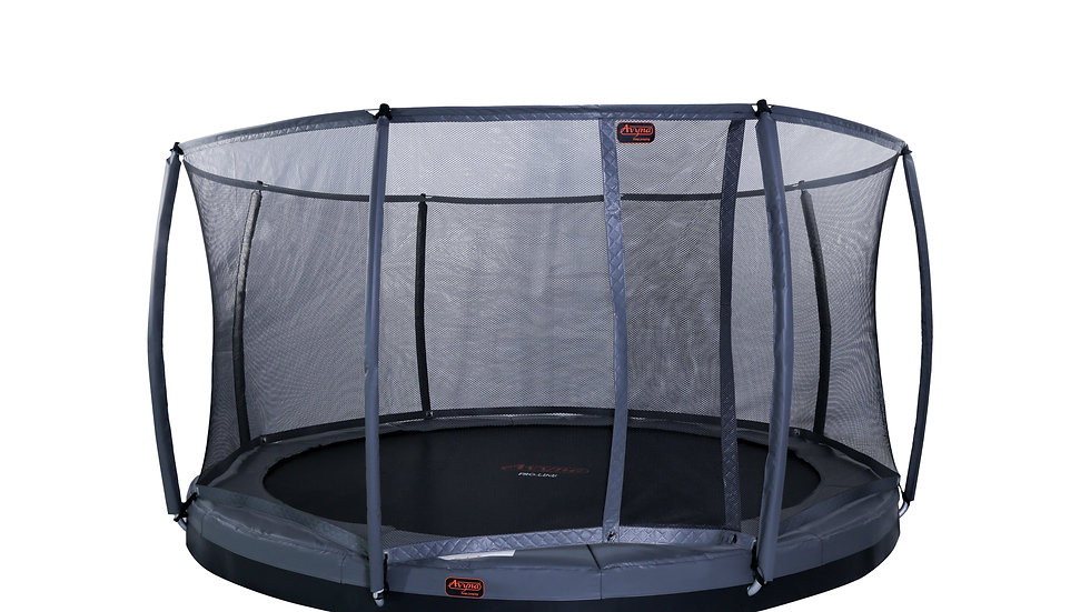 Avyna Pro-Line FlatLevel Trampoline 14-foot Diameter Round with Safety Net