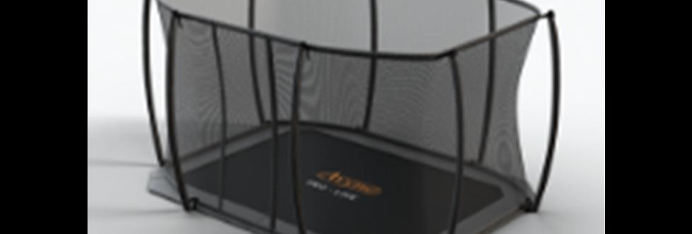 Avyna Pro-Line FlatLevel Avyna Rectangular 10 x 17 Trampoline with Safety Net
