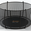 Thumbnail: Avyna Pro-Line FlatLevel Trampoline 14-foot Diameter Round with Safety Net