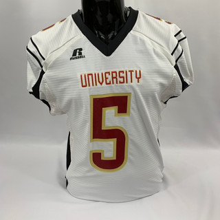 White, Maroon, and Gold University