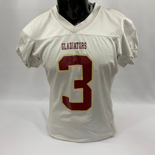 White Maroon and Gold Gladiators