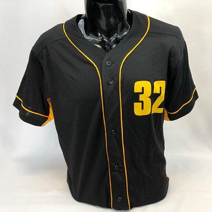 Black and Gold Baseball