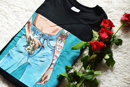 "Camisa ""She is art"""