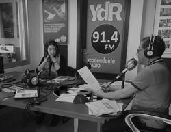 Entrevista en Ycoden Daute Radio con Fe de Vida