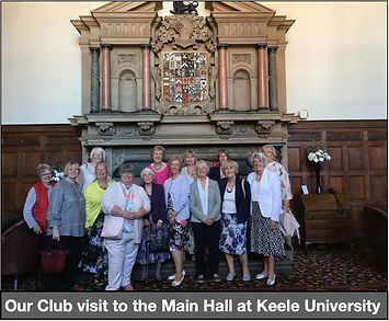 P4. Our Club visit to the Main Hall at K