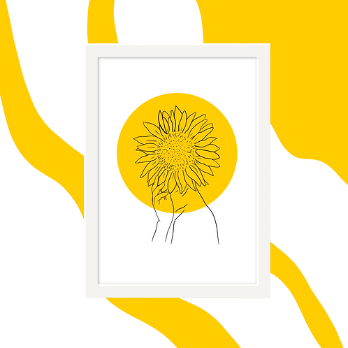 'Sunflowers on My Mind' Wall Art