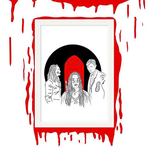 Crain Siblings Horror Wall Art