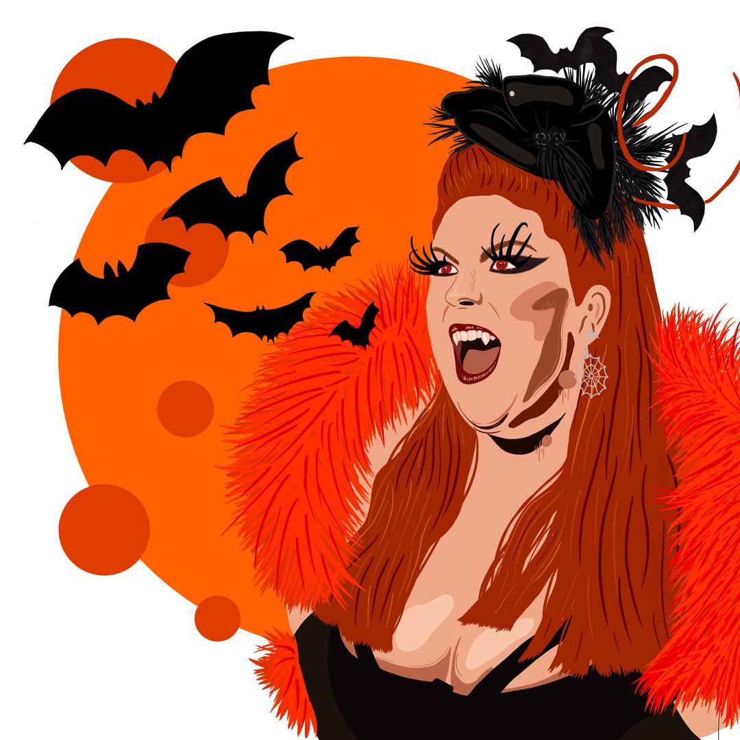 Mademoiselle Ginger Goes Bats