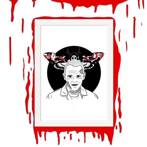 Hannibal Lecter Horror Wall Art