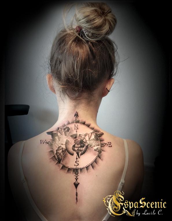 géo tattoo