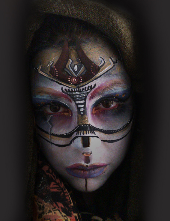 maquillage tribal 2