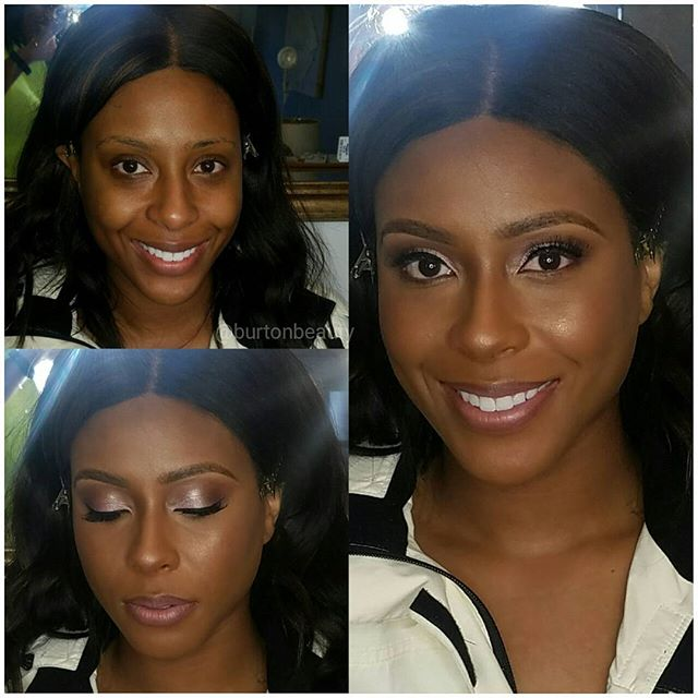 Had the pleasure of glamming the beautiful Gabrielle. I dont why but she reminds me of _ciara